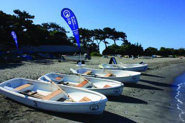 「親子の日」 x   一色boat